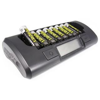 Batteriladdare MH-C800S + 8st AA2700mAh